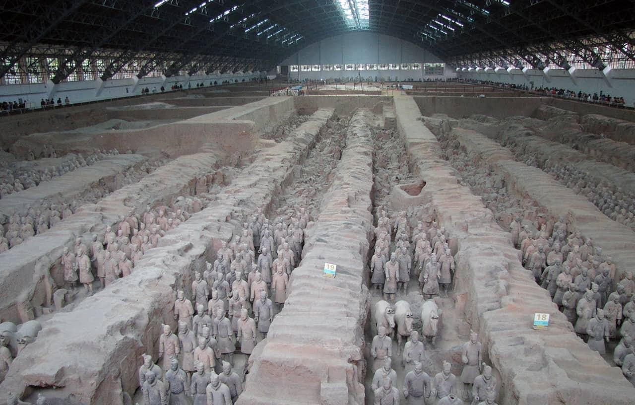 Terracottaleger van Xi'an