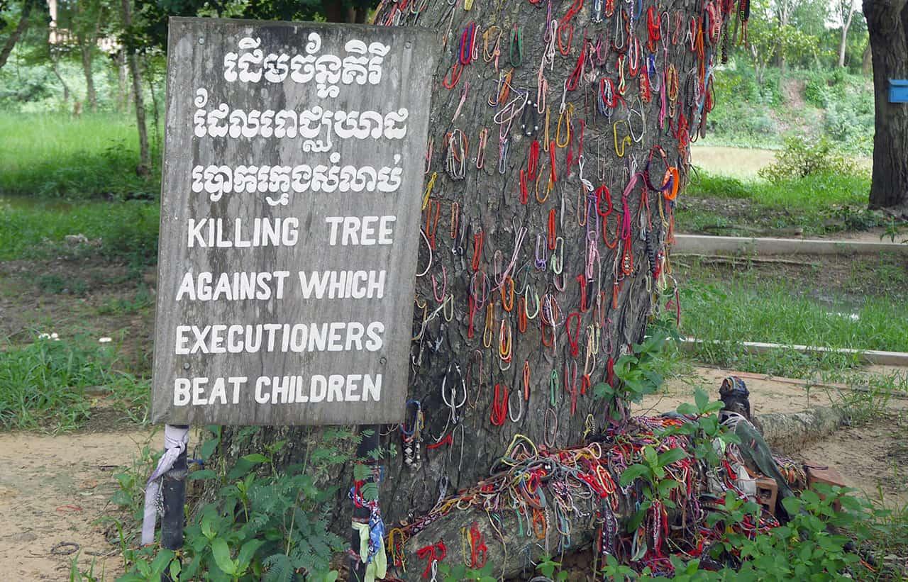 Choeung Ek in Phnom Penh