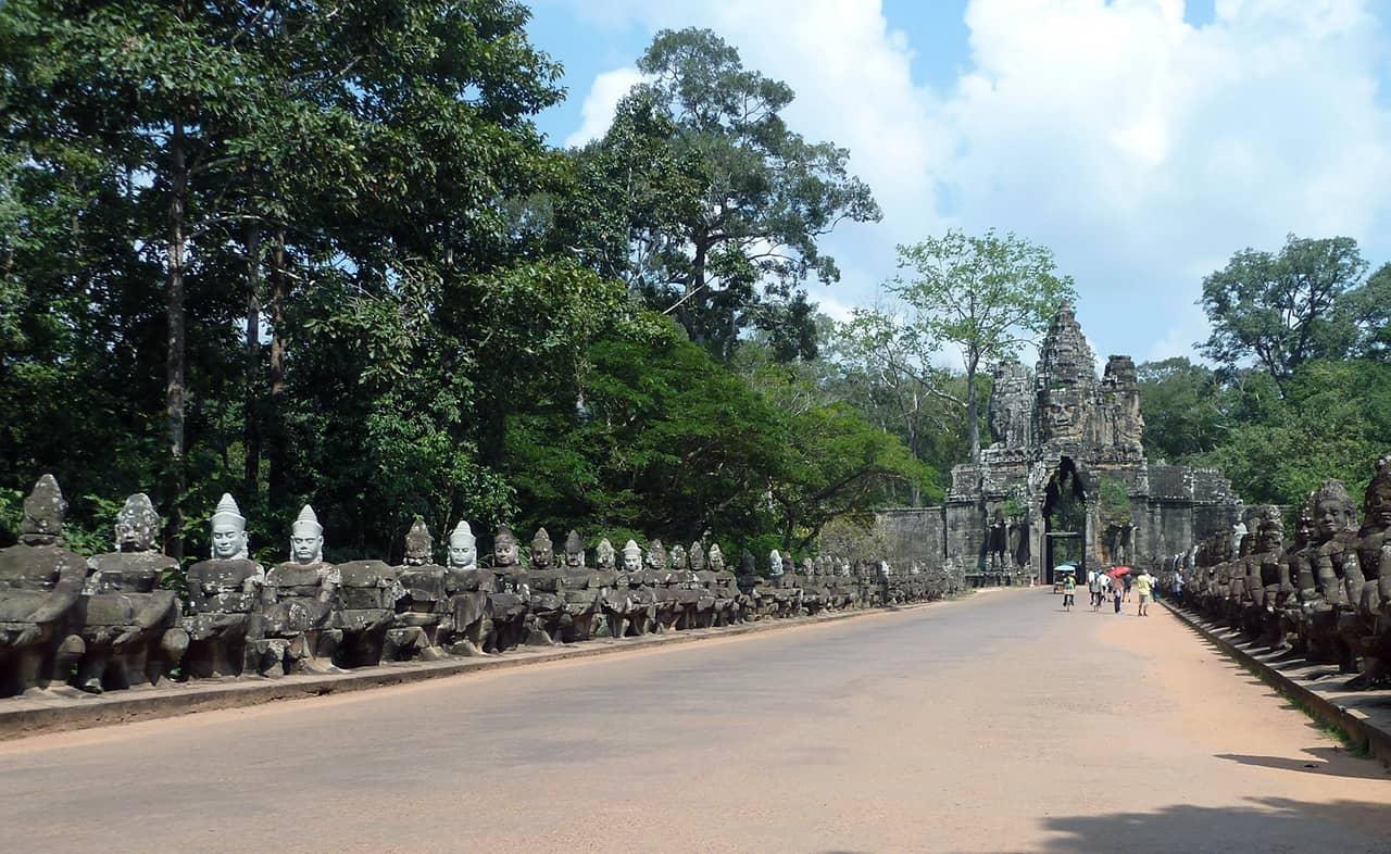 Het grote Khmer-rijk Angkor
