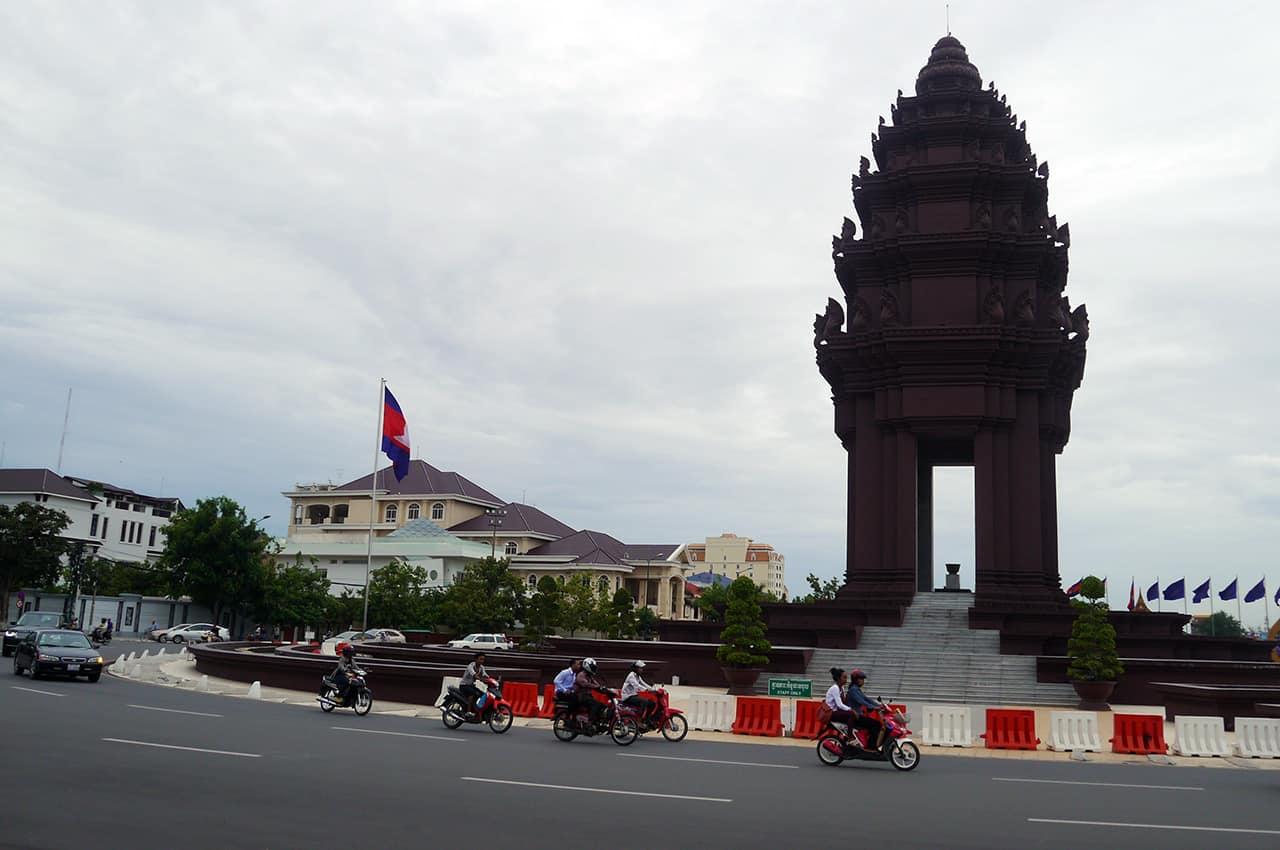 Independence Square Phnom Penh