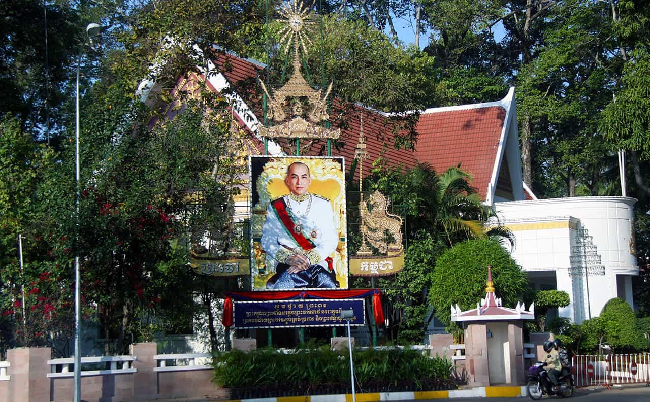 Koning van Cambodja