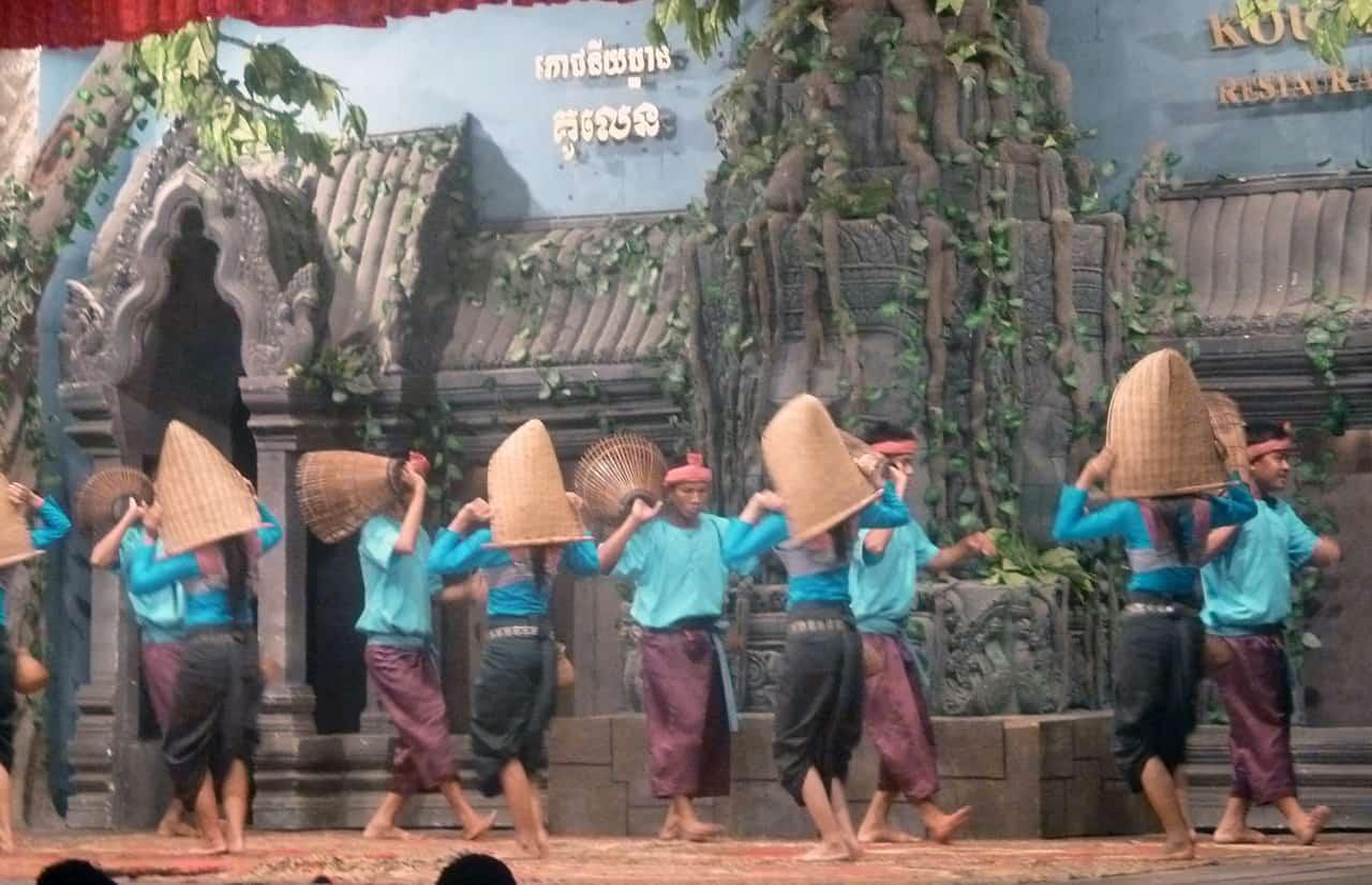 Apsara dansvoorstelling in Siem Reap