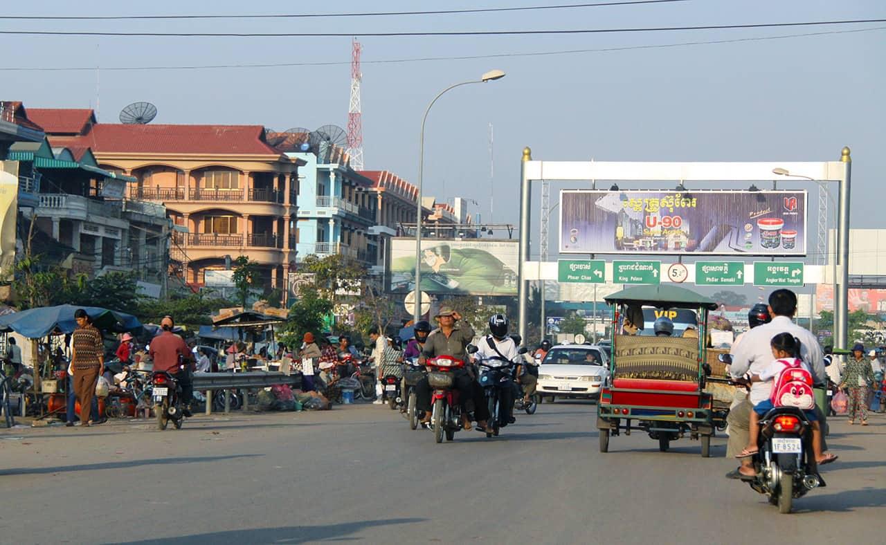 Verkeer in Siem Reap