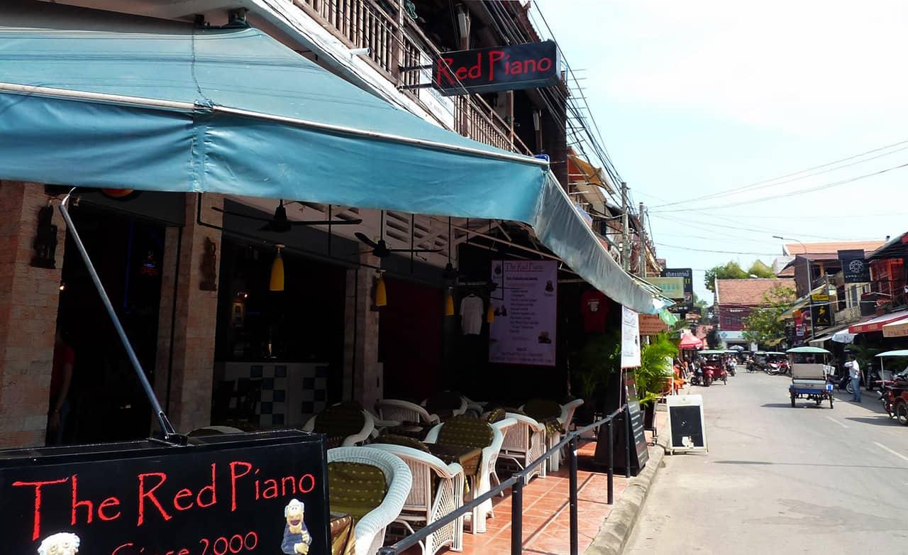 Eetstraatjes van Siem Reap