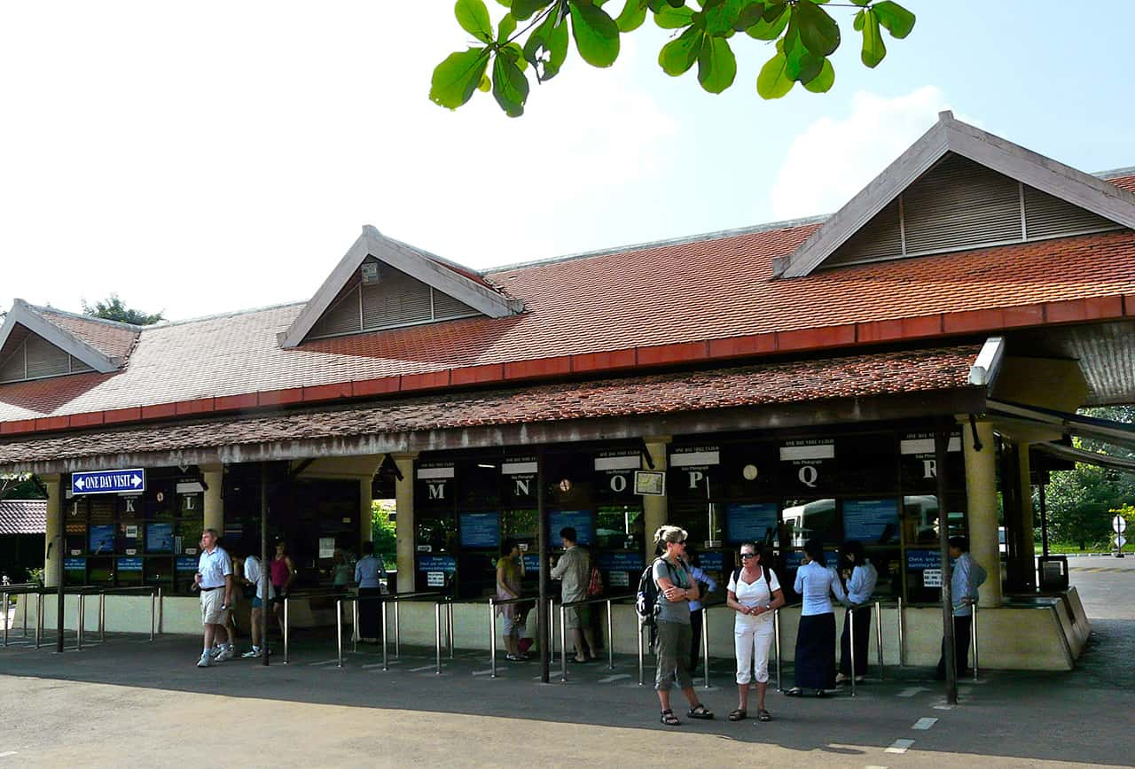 Ticketbalie Angkor Pass