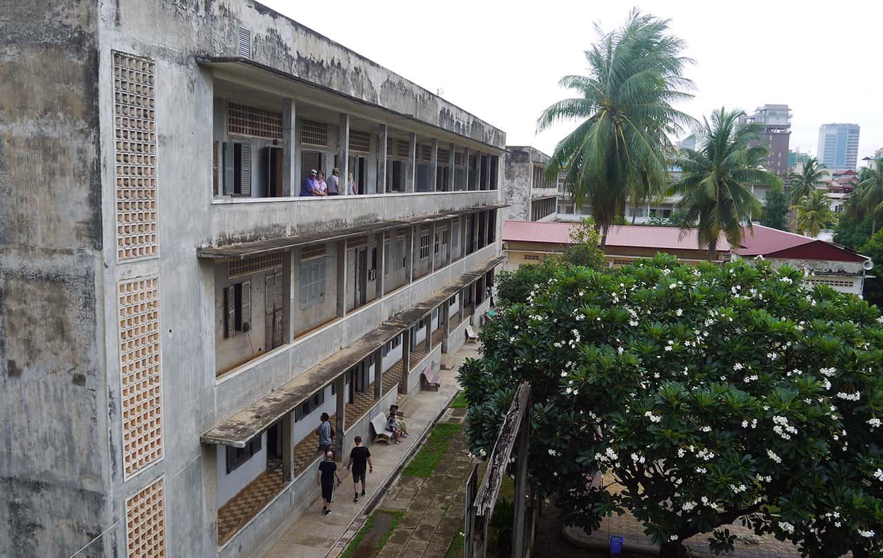 Tuol Sleng Genocide Museum (S-21 Prison) in Phnom Penh