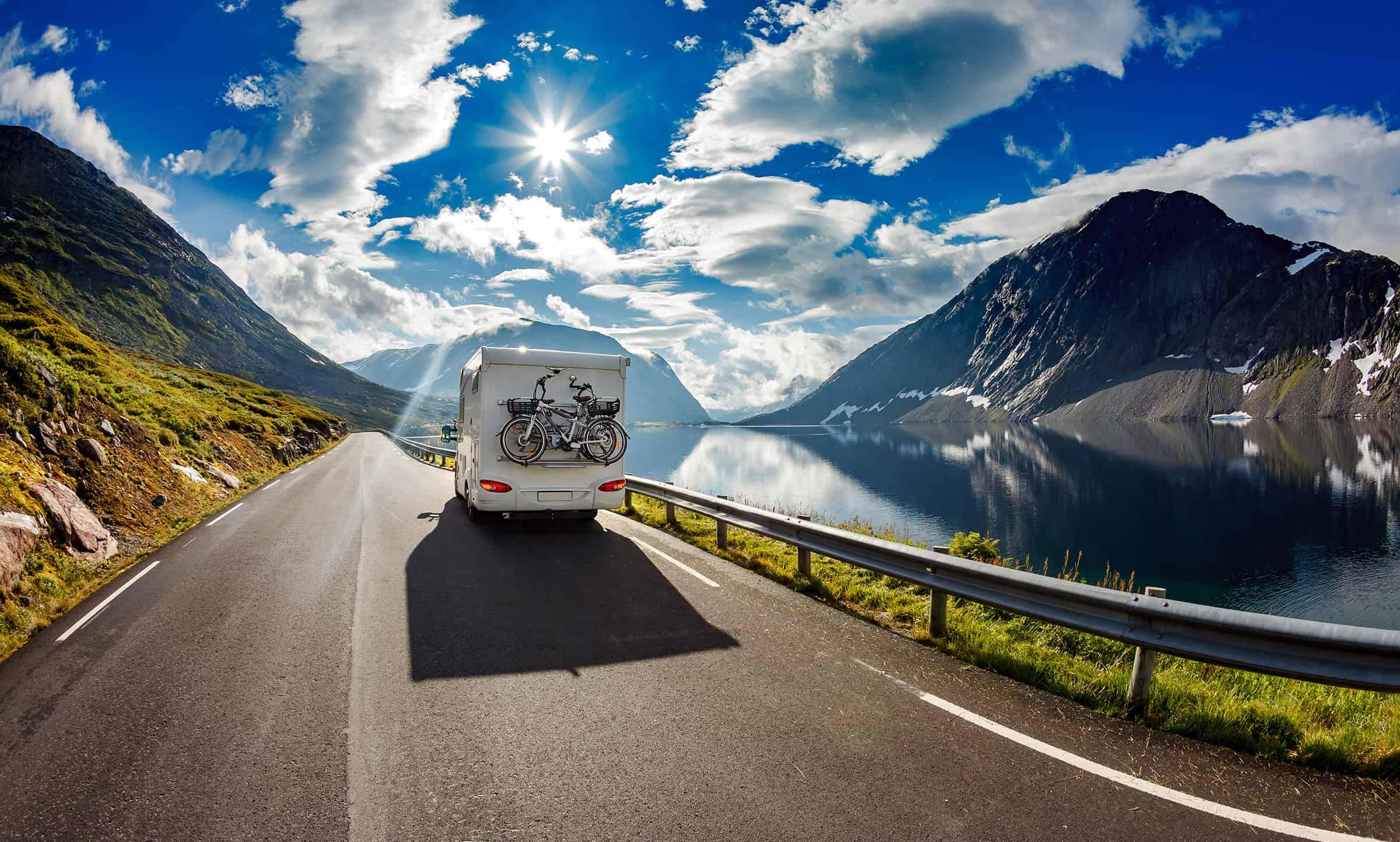 Camperreizen door Noorwegen