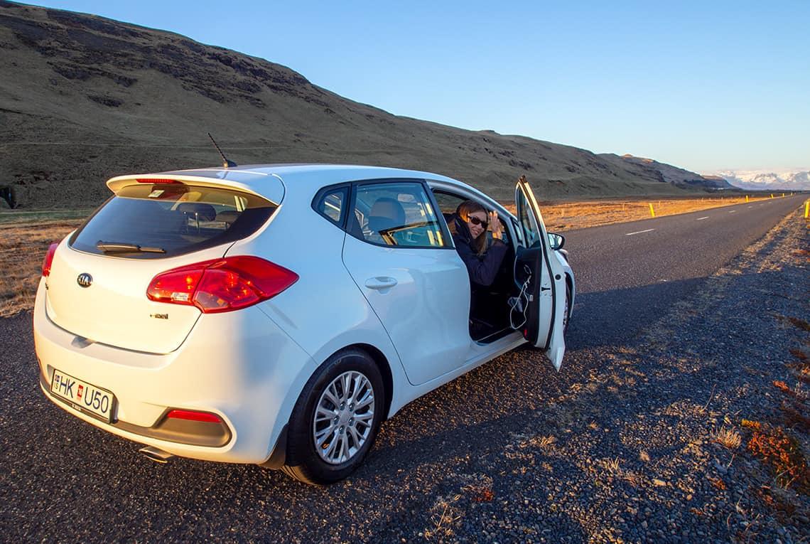 Een auto huren in IJsland
