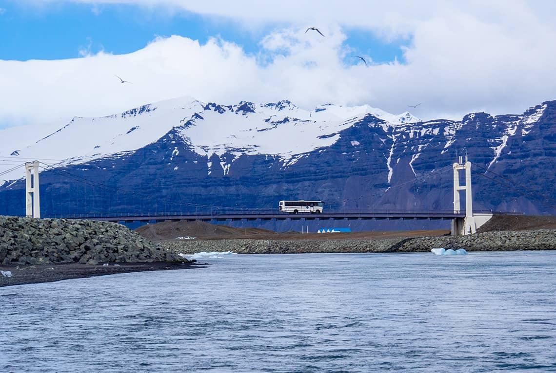 Bus in IJsland