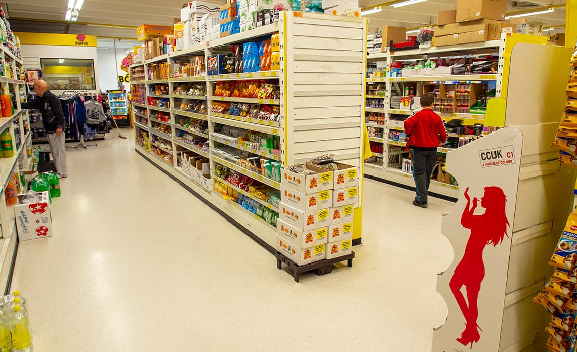 Supermarkt in IJsland