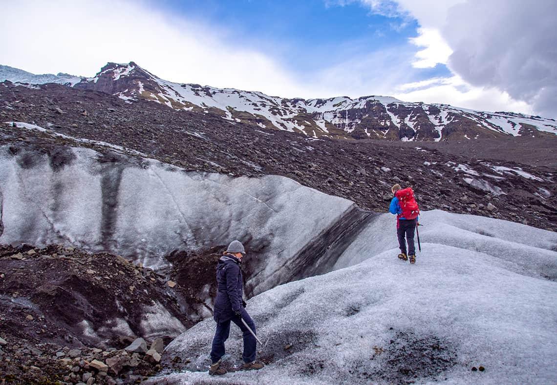 Gletsjerhike in IJsland
