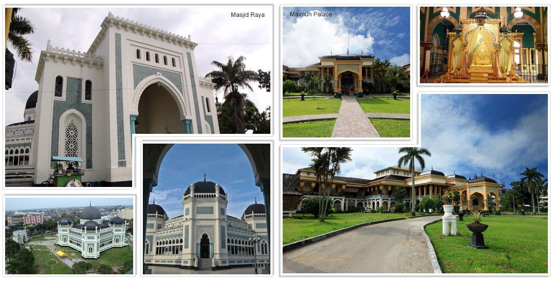 Masjid Raya en Maimun Palace