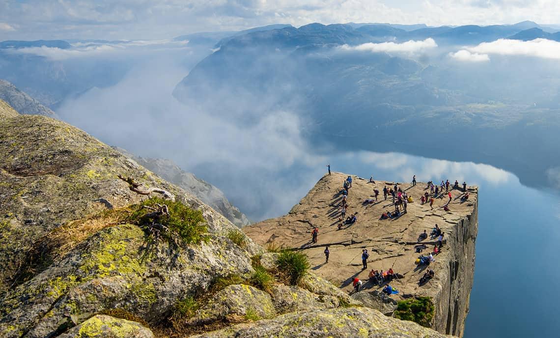 Hoogtepunten bij een reis naar Noorwegen