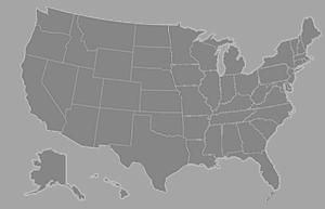 Reizen naar het westen van de VS