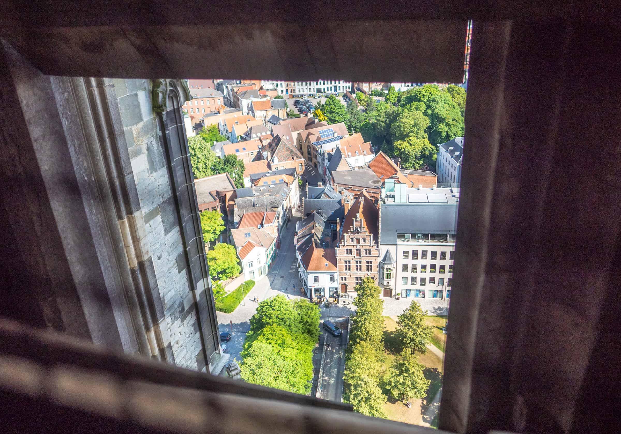 Uitzicht vanaf St Romboutstoren