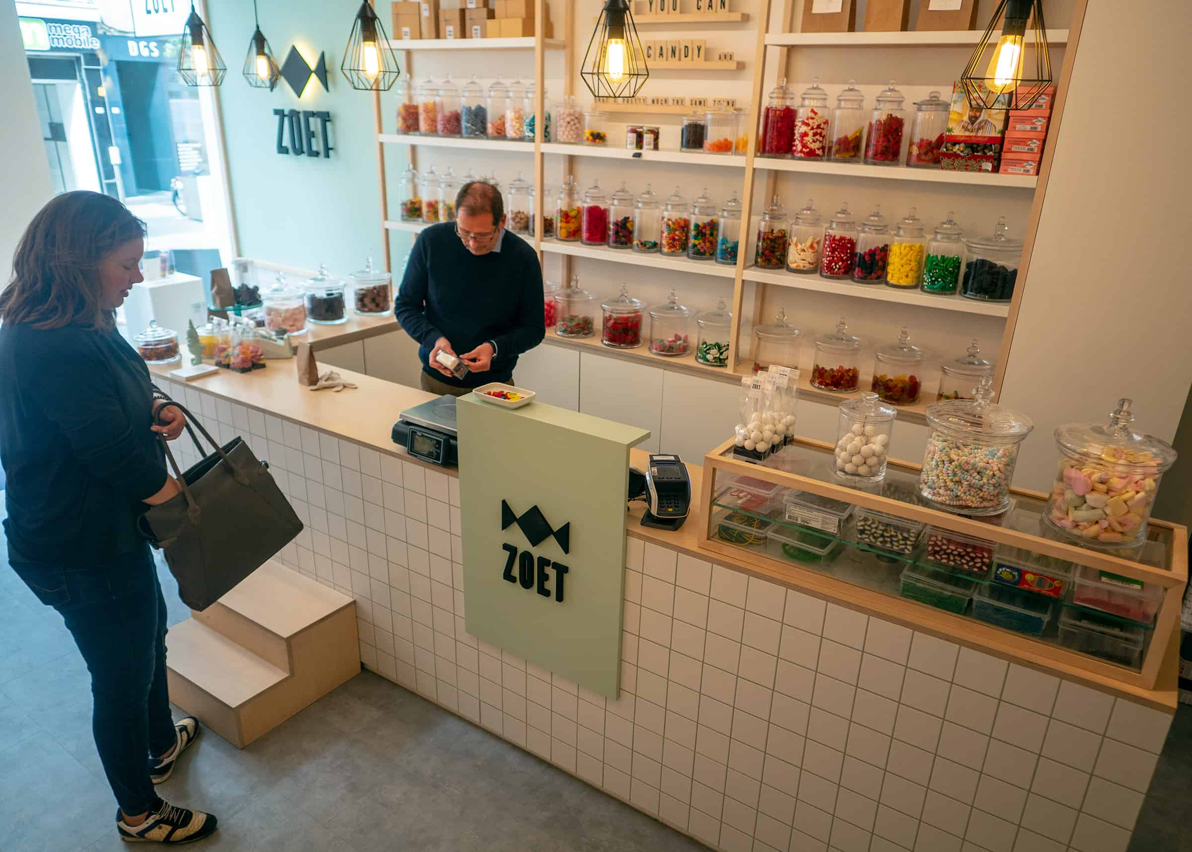 Zoet snoepwinkel Mechelen