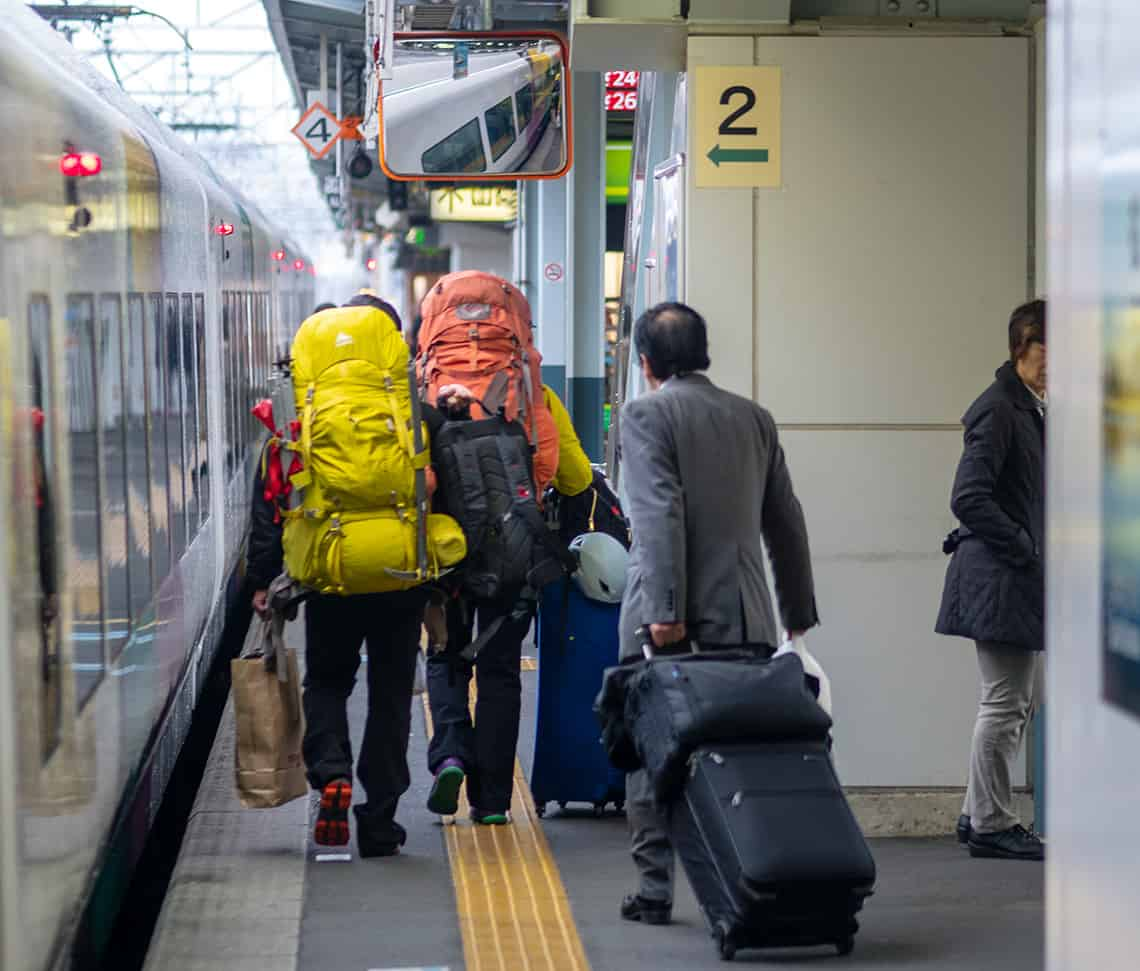 Backpacken in Japan