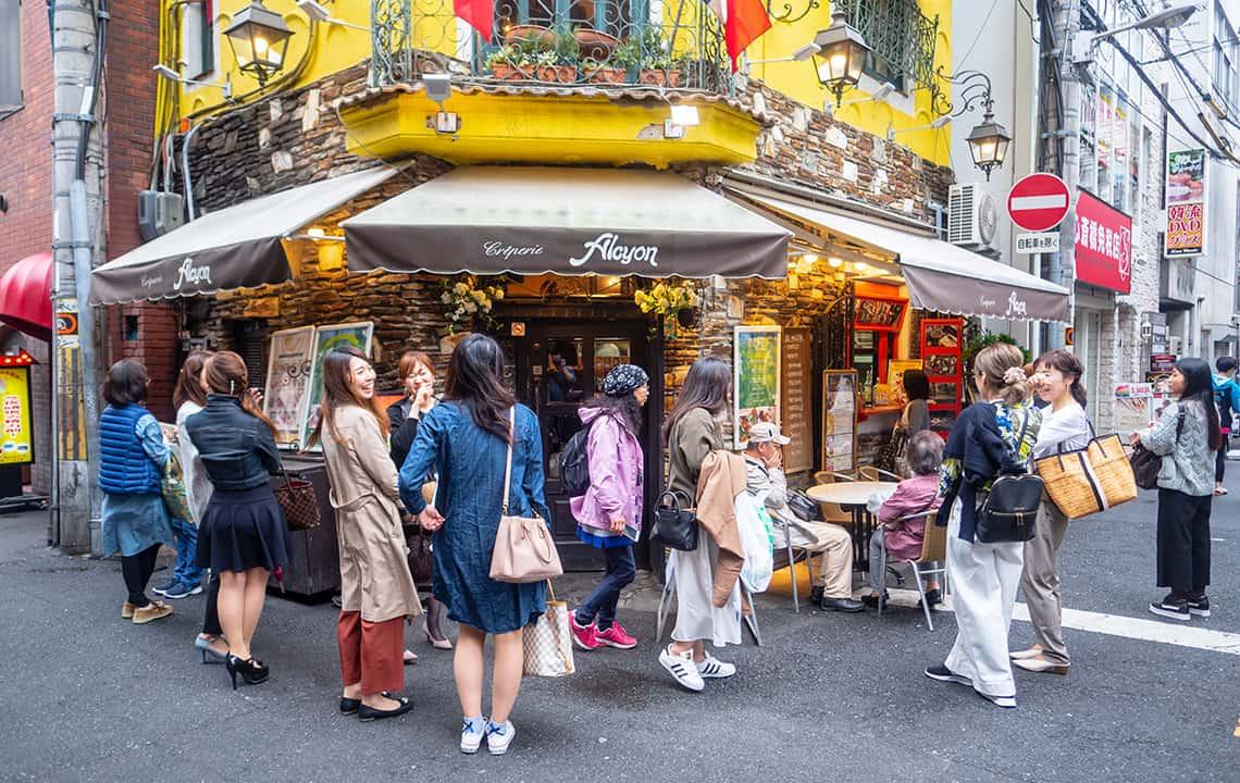 Creperie in Osaka