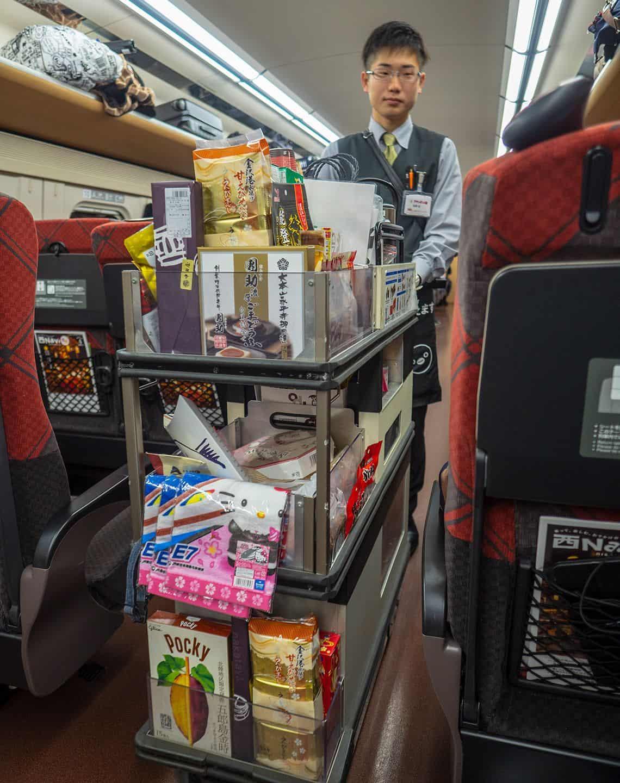 Eten in de Shinkansen