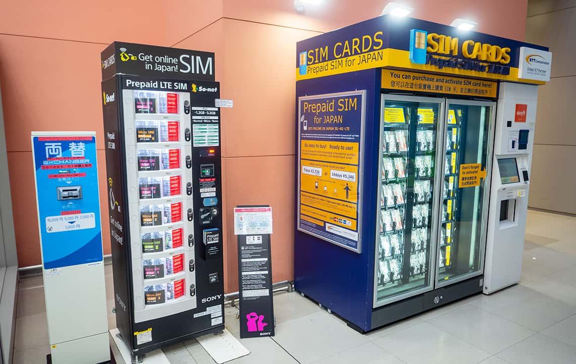 Japan, het land van de vending machines