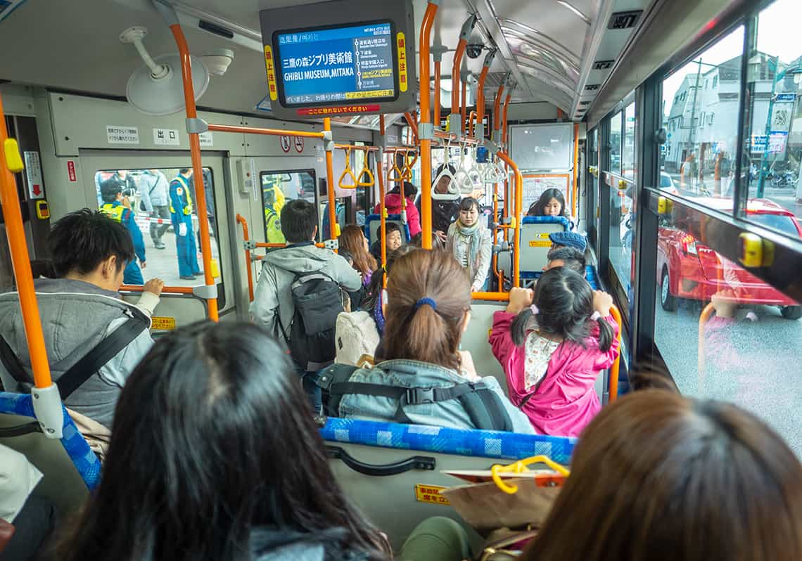 Gratis Ghibli Museum bus