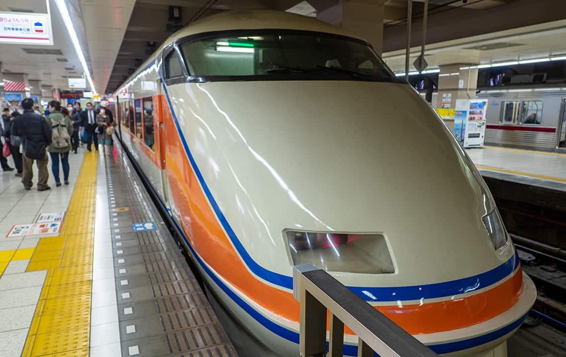 Trein naar Nikko