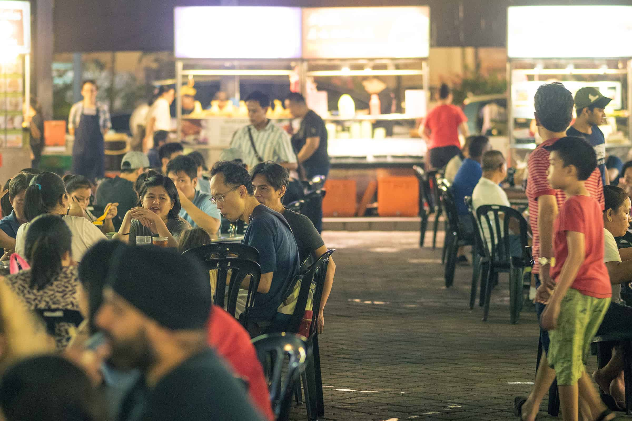 Foodcourt in Kuala Lumpur