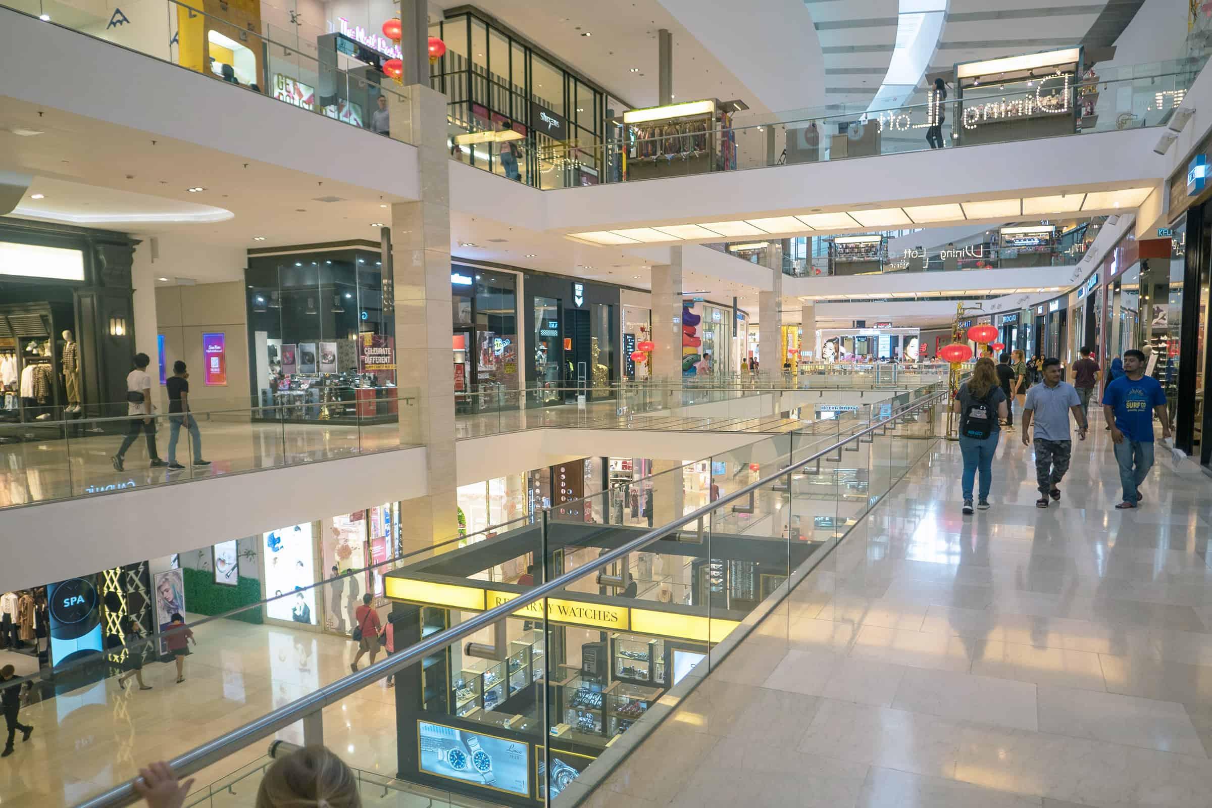 Winkelcentrum in Kuala Lumpur