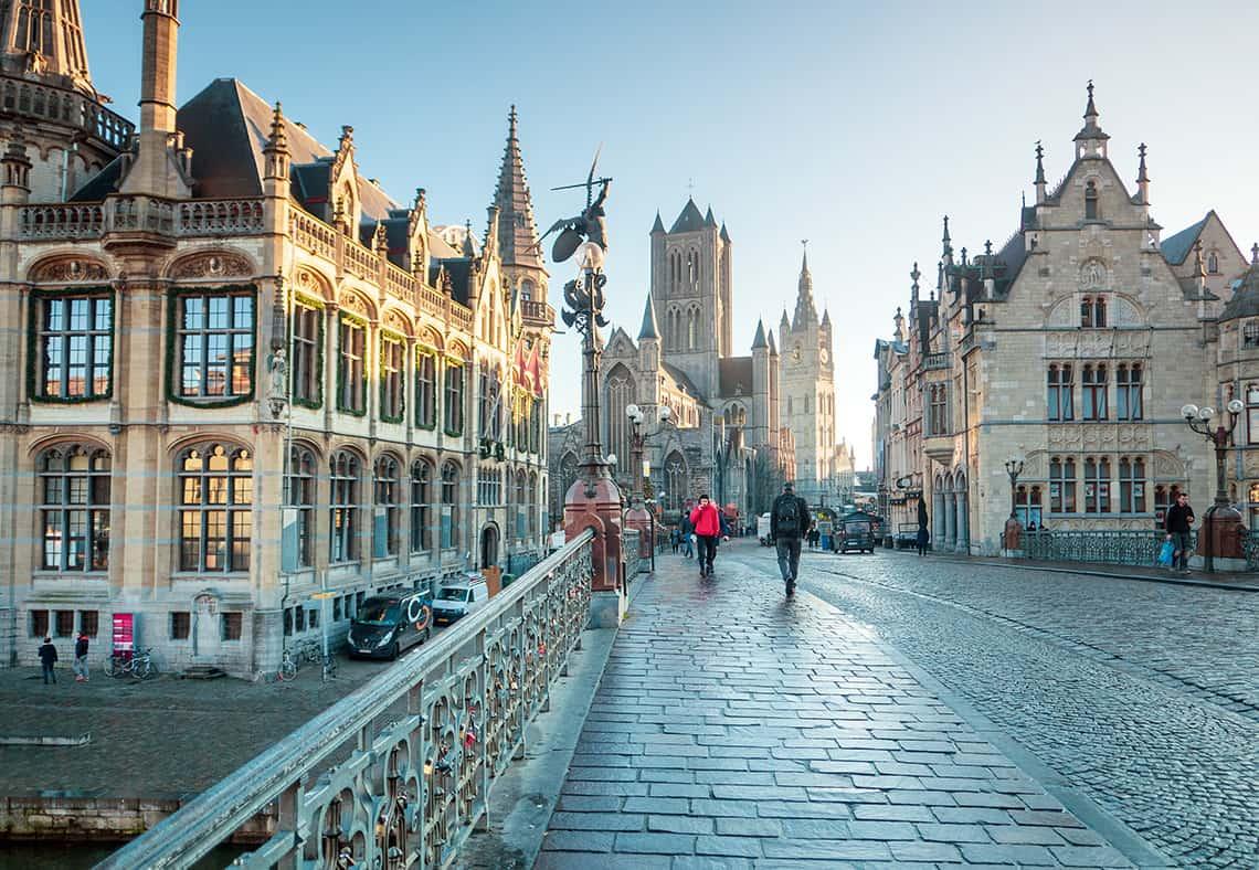 Historische centrum van Gent