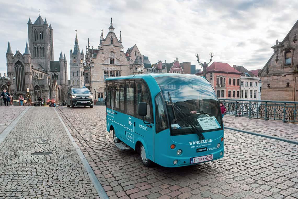 Wandelbusjes Gent