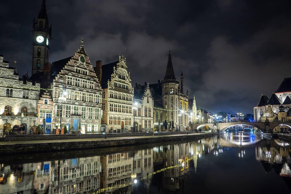 Lichtwandeling Gent