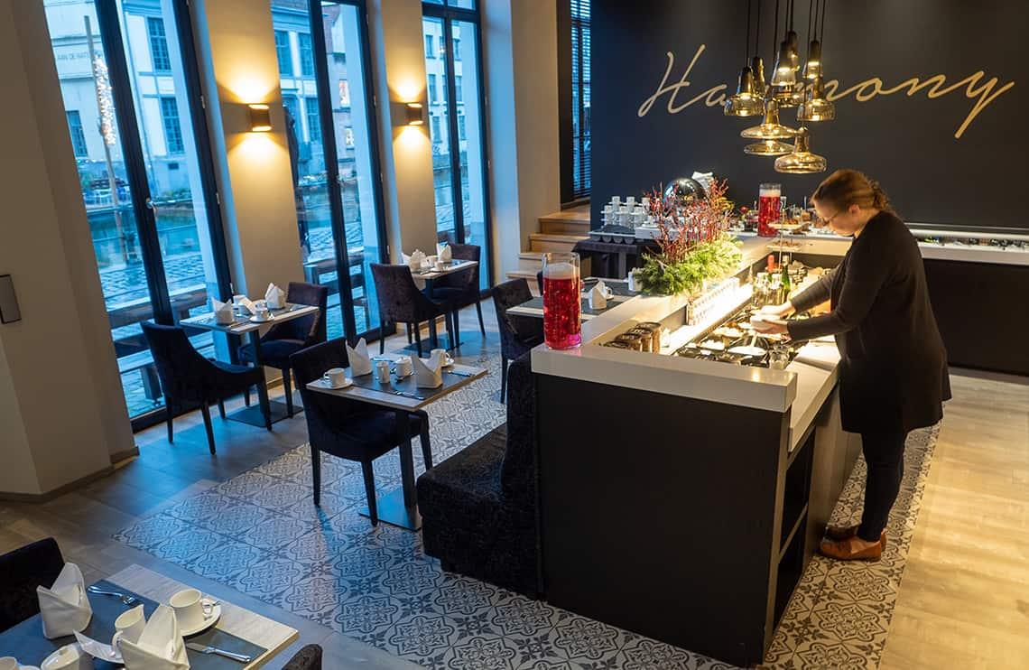 Ontbijt Hotel Harmony, Gent