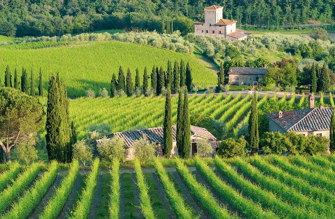 Wijn uit Italie
