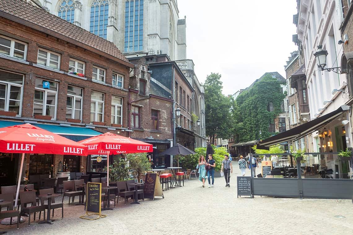 Terrasjes in Antwerpen