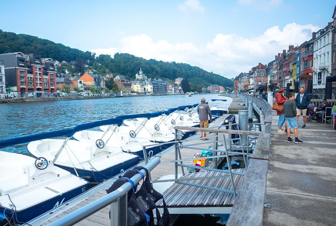 Fluisterboot in Dinant