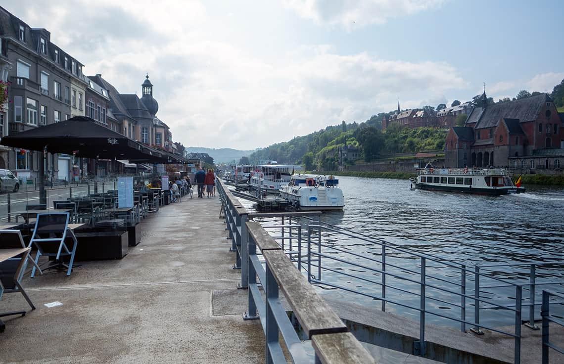 Rondvaart over de Maas bij Dinant