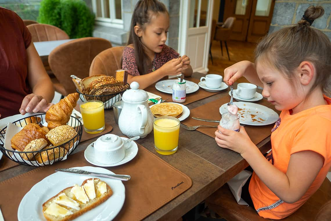 Ontbijt Villa Gracia
